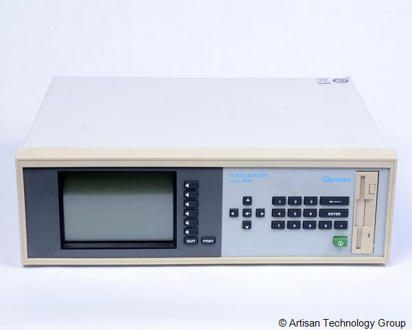 Chroma 6630 Power Analyzer