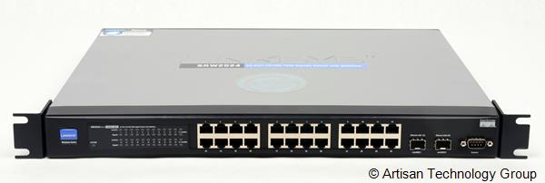 Cisco Systems SRW2024 24-Port 10/100/1000 Gigabit Switch