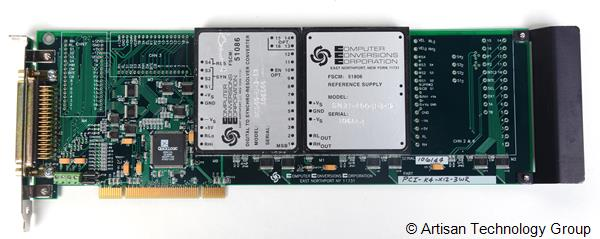 Computer Conversions PCI-Synchro Series Synchro/Resolver/Encoder/LVDT PCI Bus Card