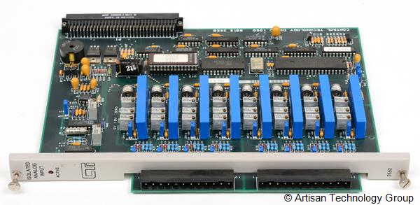 Control Technology 2550 8-Channel Isolated Analog Input Module