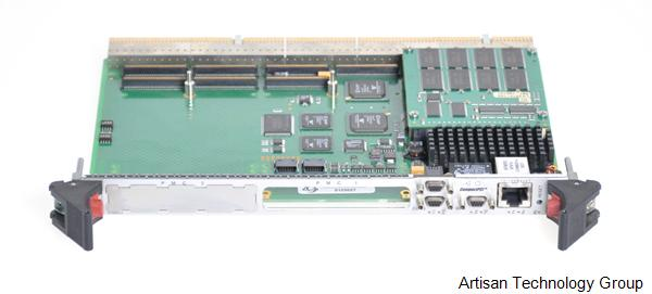 Creative Electronic Systems RIOC 4065 PowerPC-Based CompactPCI Twin PCI Bus Real-Time Processor Board