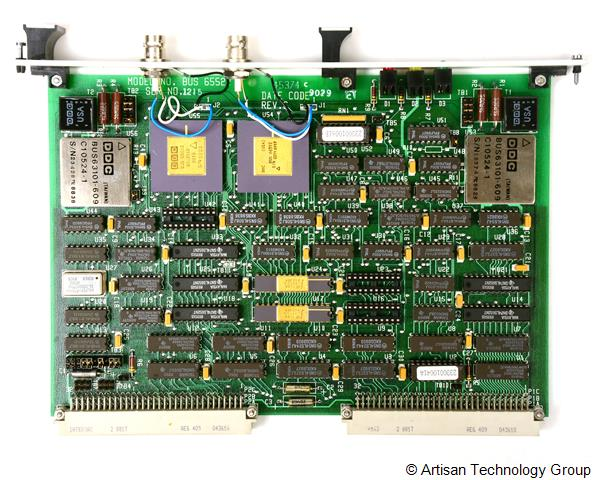 DDC BUS-6552xxx Series MIL-STD-1553B BC/RT/MT VME/VXI Interface Card