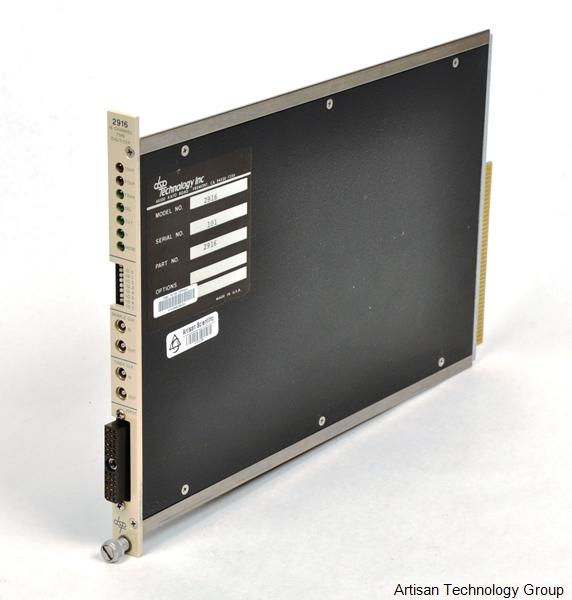Spectral Dynamics / DSP Technology 2916 16-Channel Time Digitizer CAMAC Module