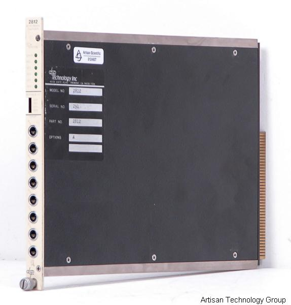 MTS / DSP Technology 2812 8-Channel 100 kHz Digitizer CAMAC Module