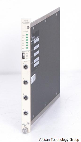 MTS Systems / DSP Technology 2850 4 Channel 500 KHz Digitizer CAMAC Module