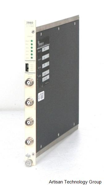 MTS Systems / DSP Technology 2860 4-Channel 1 MS/s Digitizer CAMAC Module With BNC Connections