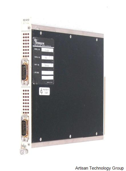 MTS Systems / DSP Technology I/O 612 Dual 24-Bit Parallel I/O Register CAMAC Module