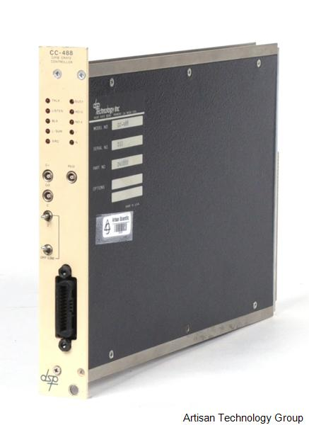 MTS Systems / DSP Technology CC-488 GPIB Crate Controller CAMAC Module