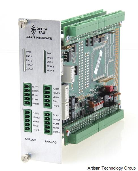 OMRON / Delta Tau ACC-24E2A UMAC Turbo 4-Axis Analog Interface Module
