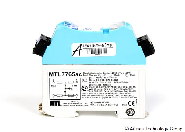 Eaton / MTL Instruments MTL7765ac Safety Barrier Terminal