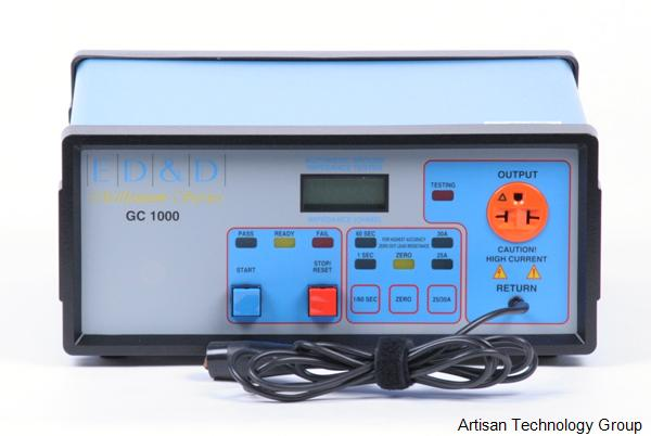 Educated Design and Development GC-1000 Automatic Ground Impedance Tester