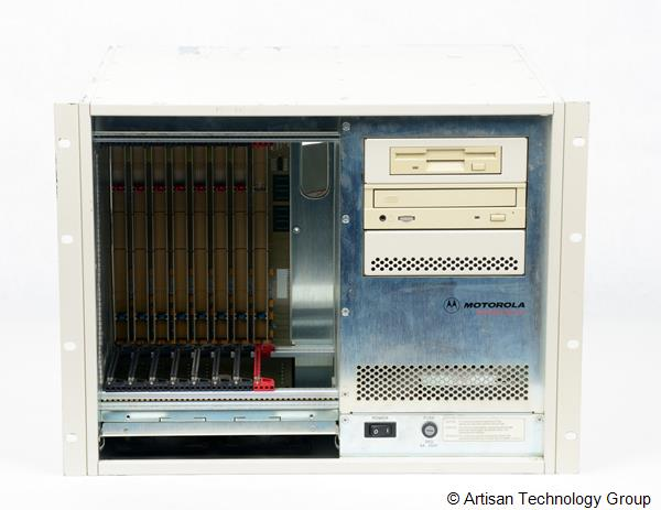 Emerson / Motorola CPX2208 8-Slot CompactPCI Chassis, w/ CD and Floppy Drives