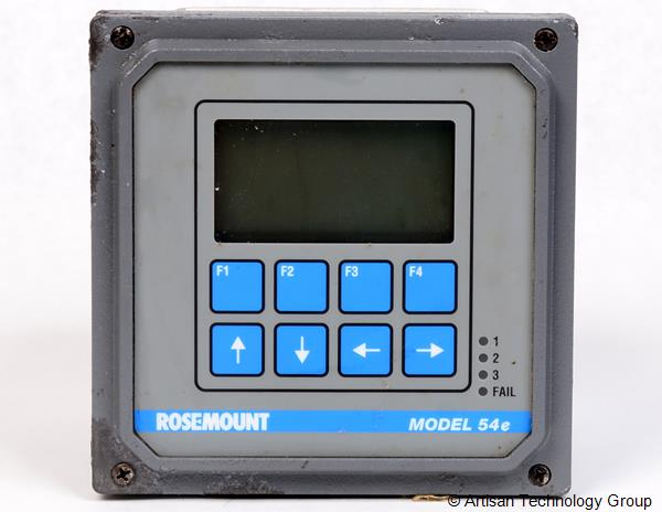 Emerson / Rosemount Analytical 54EC-01-09 Conductivity / Resistivity Analyzer / Controller