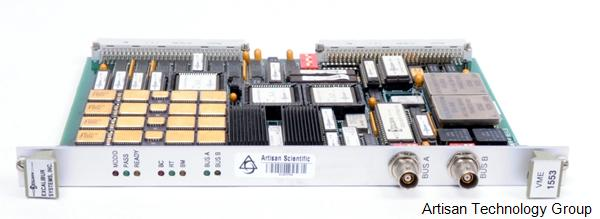 Excalibur Systems EXC-1553VME/E-V MIL-STD-1553 Interface Card