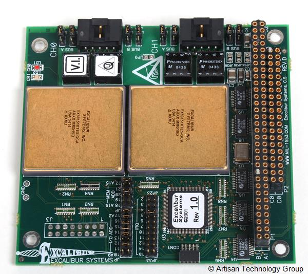 Excalibur Systems EXC-1553P104/MCH-2 Avionics Communication Board