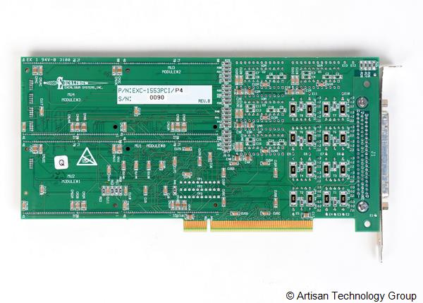 Excalibur Systems EXC-1553PCI Series MIL-STD-1553 Interface Modules