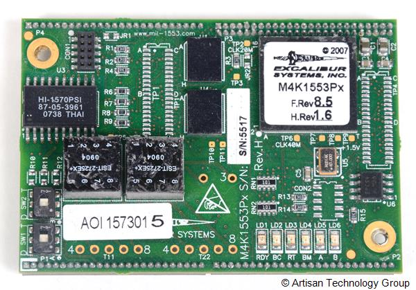 Excalibur Systems M4K1553Px Avionics Communication Module