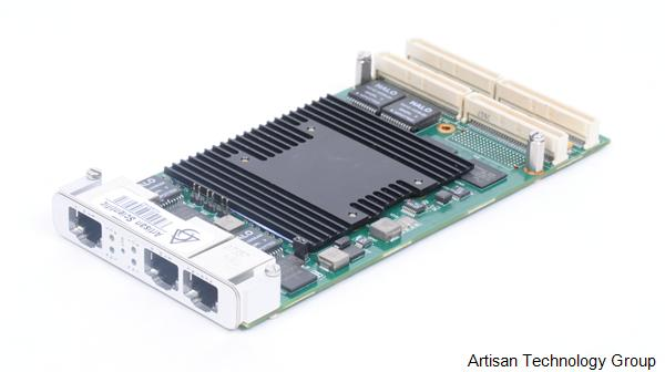Extreme Engineering Solutions XPedite5200 PowerQUICC III Processor PMC (PrPMC) Module with Quad Gigabit Ethernet