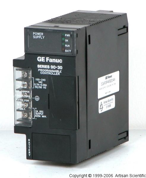 GE Fanuc IC693PWR321 Series 90-30 Power Supply Module