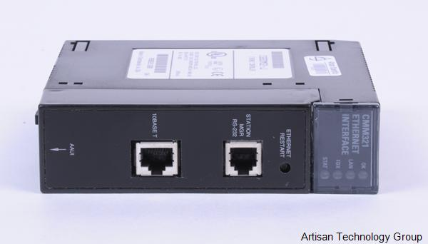GE Fanuc IC693CMM321-JJ Series 90-30 PLC Ethernet TCP/IP Module