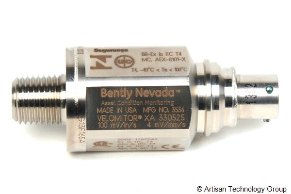 GE / Bently Nevada 330525-00 Velomitor Asset Condition Monitoring XA Piezo-Velocity Sensor