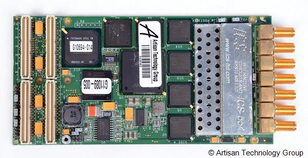 GE Fanuc / ICS ICS-554 4-Channel, 14-Bit, 105 MHz PMC ADC Board with Down-Converters and Xilinx FPGA