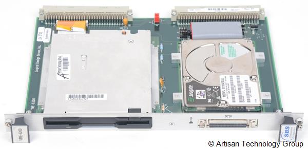 Abaco Systems / SBS / Logical Design Group VME-6201 VME Disk Drive Module with IDE and Floppy Drive