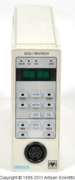 Data Sciences International / LDS / Gould 13-6615-65 ECG / Biotach Module