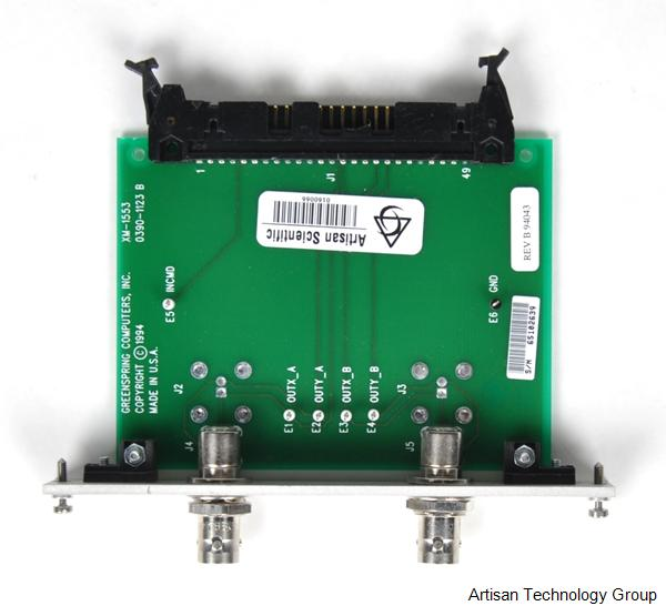 GE Fanuc / SBS / Greenspring XM-1553 Passive Transition Module