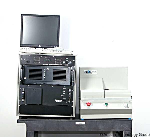 HDI Instrumentation IPS-6000 / SRA-FA Hard Disk Surface Reflectance Analyzer and Controller