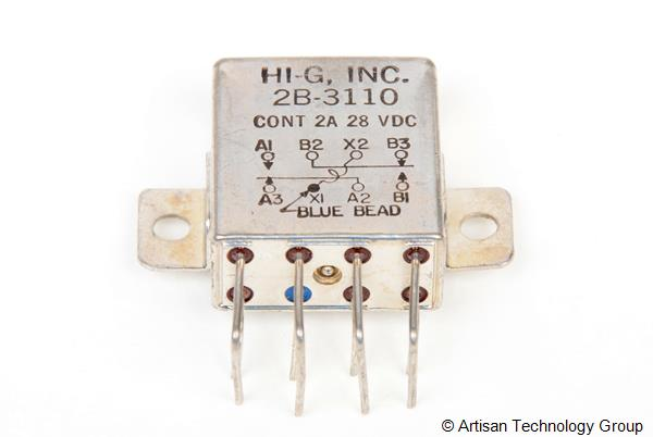 HI-G 2B-3110 Full Size Crystal CAN Relay