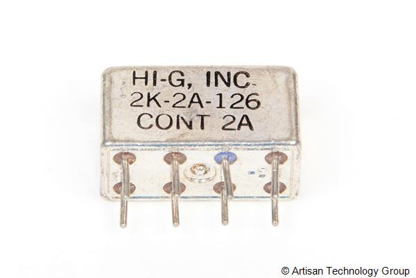HI-G 2K-2A-126 Half Size Crystal CAN Relay