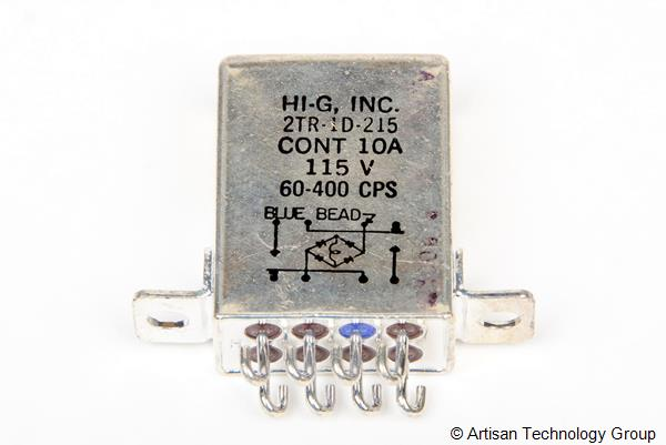 HI-G 2TR-1D-215 Crystal Can Relay