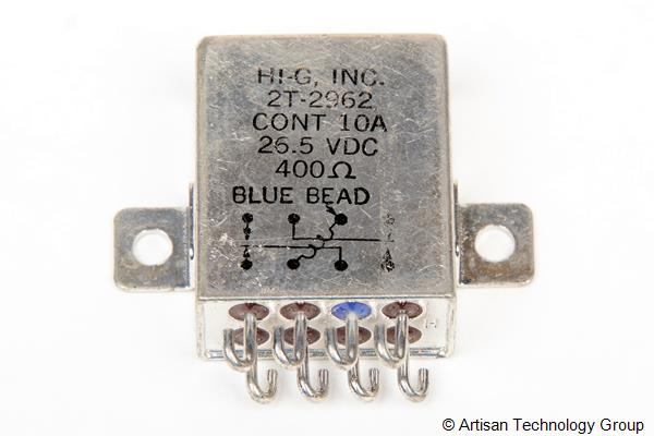 HI-G 2T-2962 Crystal Can Relay