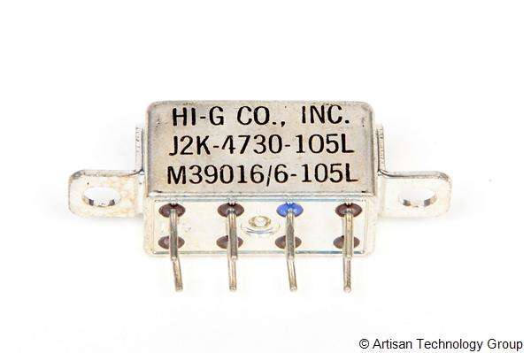 HI-G I2K Series Half Size Crystal CAN Relays