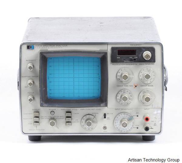 Keysight / Agilent 3580A Spectrum Analyzer