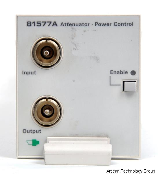 Agilent / HP 8157xA Optical Attenuators