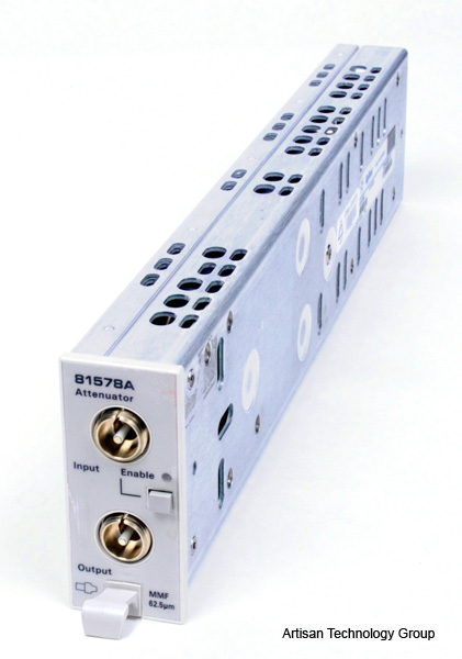 Keysight / Agilent 81578A Optical Attenuator