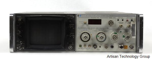 Keysight / Agilent 8558B Spectrum Analyzer with 180TR Display