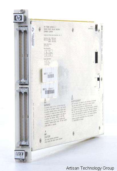 Keysight / Agilent Z2467A 8 1x16 1-Wire Solid State Relay Multiplexer