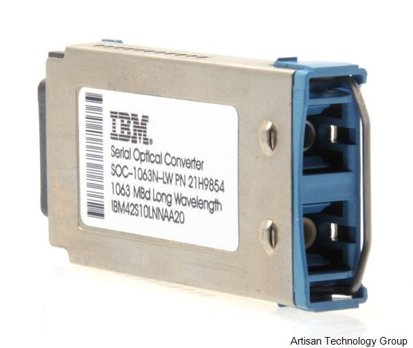 IBM SOC-1063N-LW Fibre Channel GBIC Serial Optical Converter