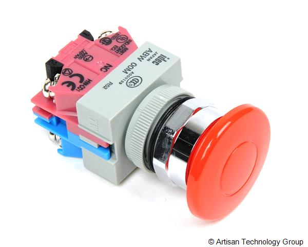 IDEC ABW411-R 22mm NEMA Style Non-Illuminated Pushbutton Switch