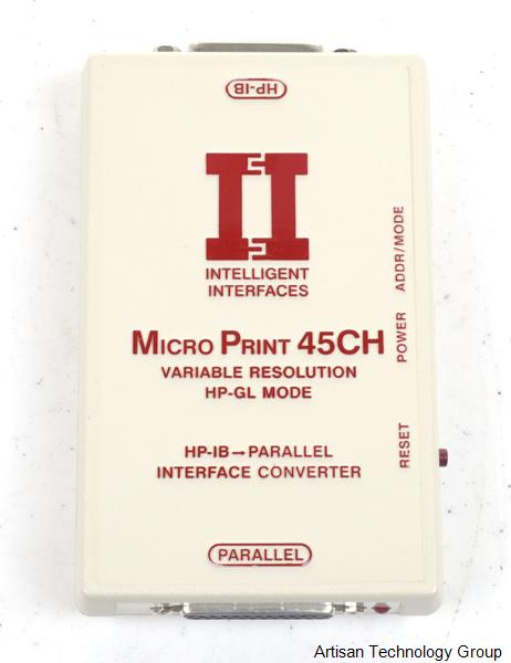 Intelligent Interfaces MicroPrint 45CH HP-IB to Parallel Interface Converter