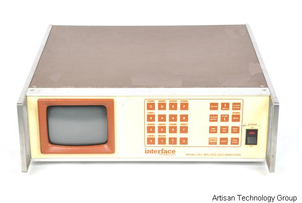 Interface Technology 553 MIL-STD-1553 Analyzer