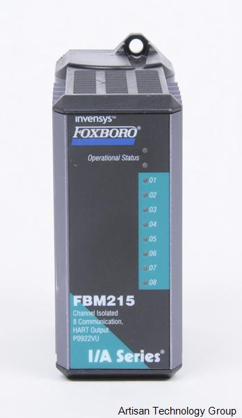 Schneider Electric / Invensys / Foxboro FBM215 HART Communication Output Interface Module