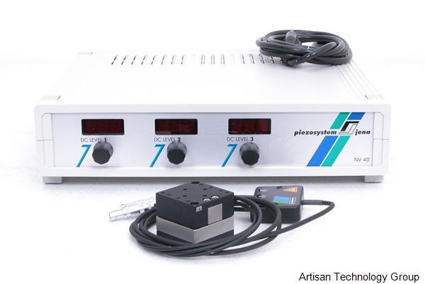 Piezosystem Jena Tritor 100 Micro/Nano XYZ Positioner Stage and NV 40/3S Controller