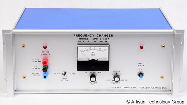 KGS Electronics SPC-6-750A Frequency Changer