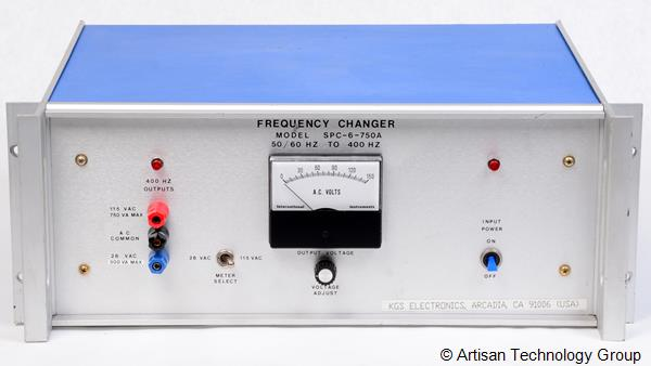 KGS Electronics SPC6-750x Series Frequency Changer
