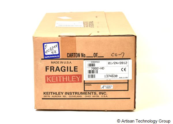 Keithley 7002-HD High Density Switch Mainframe and Cards
