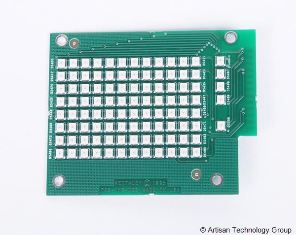 Keithley 708 Switching Matrix Mainframe's LED Board